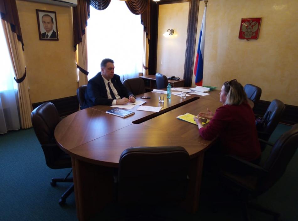 Проведение приема Уполномоченного по правам ребенка Кировской области в Приемной Президента