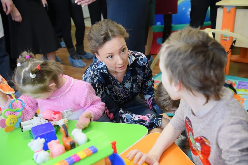 Детский омбудсмен Анна Кузнецова проверила деятельность Кольчугинского детского дома-интерната