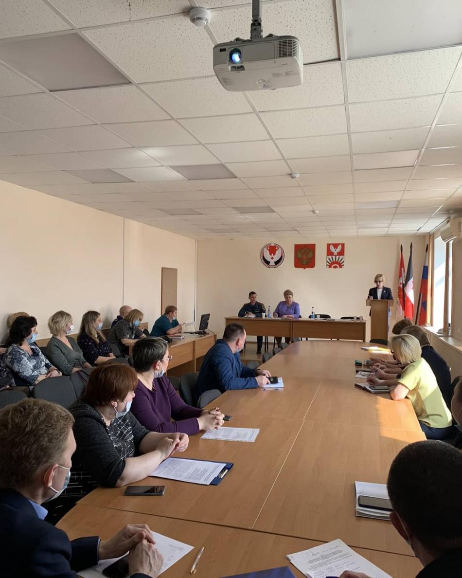 Встреча с субъектами профилактики безнадзорности  и правонарушений  Киясовского района