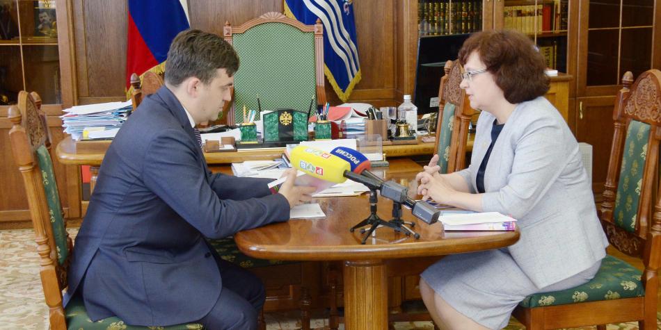Вопросы детства обсуждались на рабочей встрече Губернатора Ивановской области и Уполномоченного по правам ребенка в Ивановской области