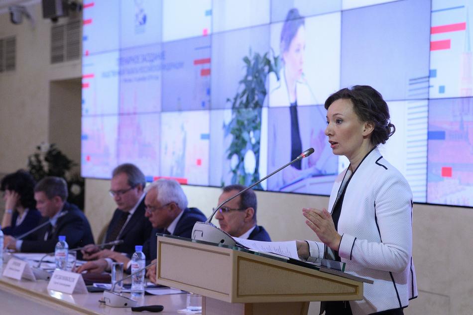 Анна Кузнецова приняла участие в пленарном заседании Общественной палаты РФ