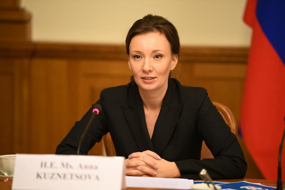 Анна Кузнецова обсудила со спецдокладчиком ООН работу по возвращению детей из зон вооружённых конфликтов