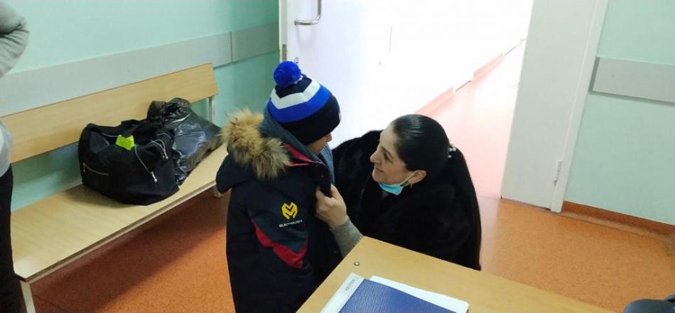 Родственникам переданы 19 детей, ранее вывезенных из Сирии