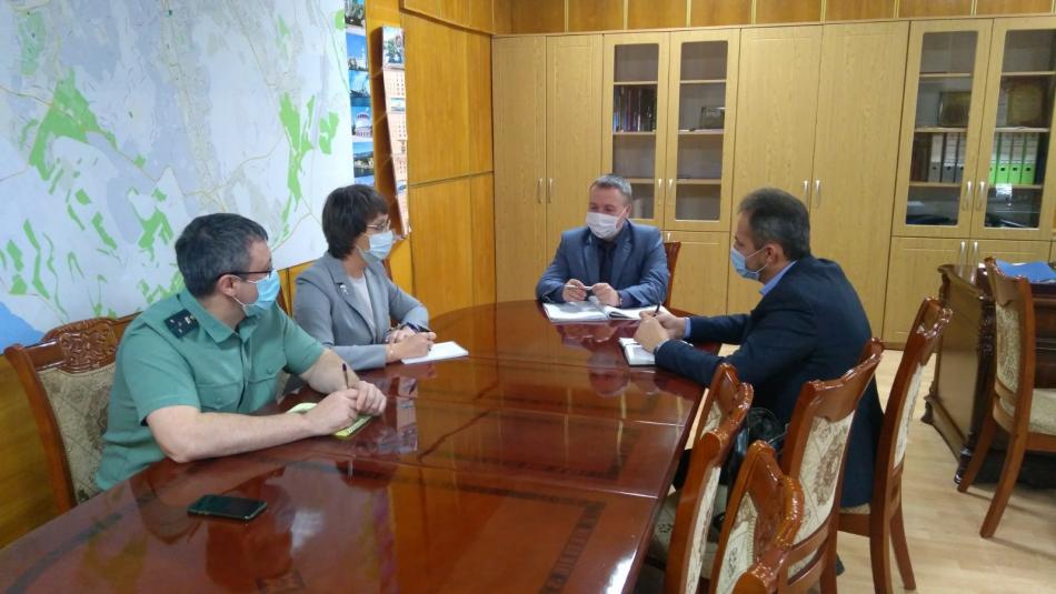 Рабочая встреча с Руководителем судебных приставов Севастополя