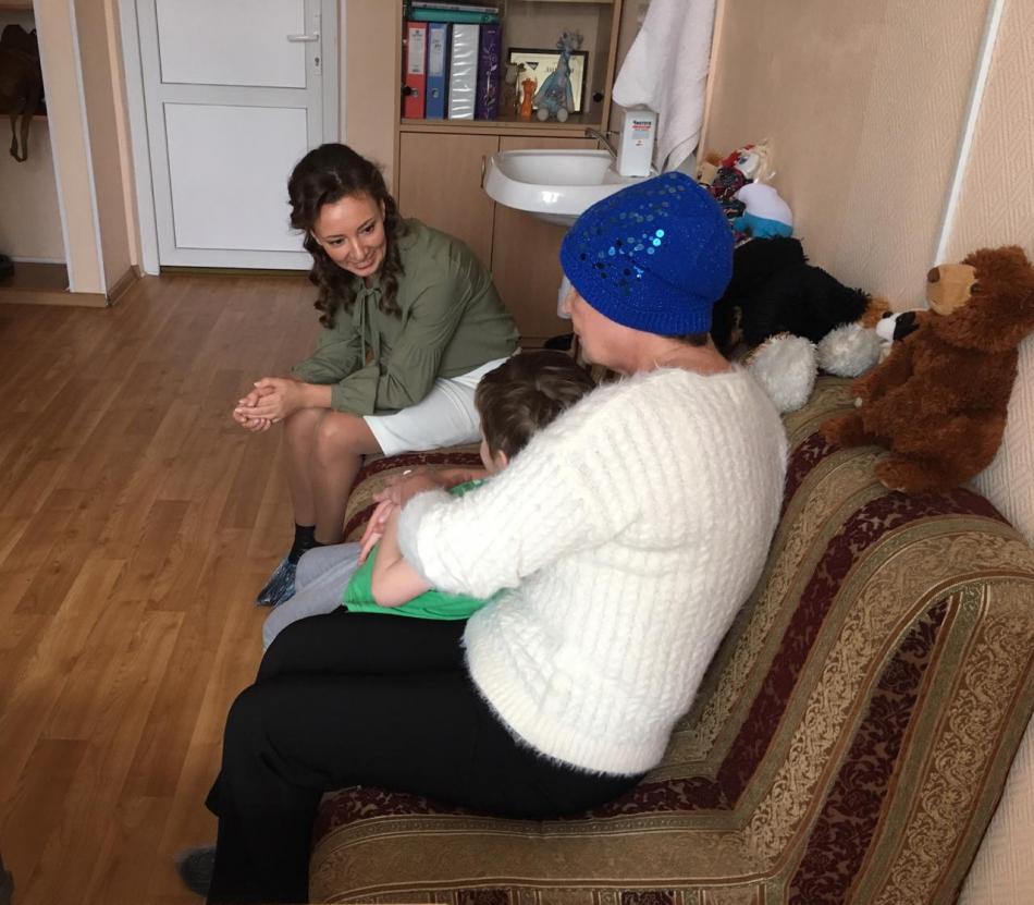 Детский омбудсмен навестила мальчика, найденного в парке «Лосиный остров»