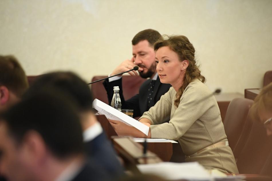 Анна Кузнецова выступила на заседании рабочей группы  Государственного совета по социальной политике