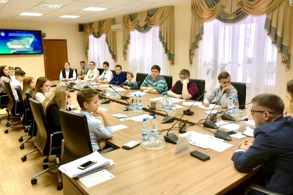 Заседание Детского общественного совета при Уполномоченном по правам ребенка в ЯНАО