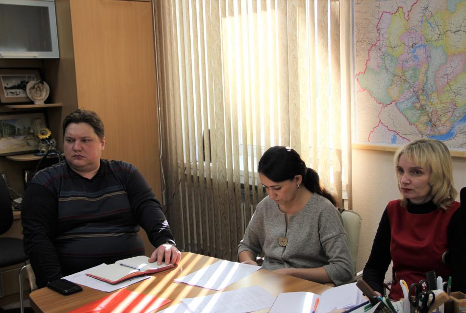 Очередное заседание рабочей группы по вопросам детской безопасности состоялось в аппарате Уполномоченного по правам ребенка в Иркутской области