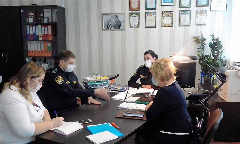 Совместный приём граждан детского омбудсмена Ленинградской области и Главного судебного пристава