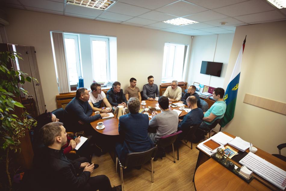 Состоялась первая рабочая встреча отцовской общественности города Тюмени и Тюменского района с Уполномоченным по правам ребенка в Тюменской области