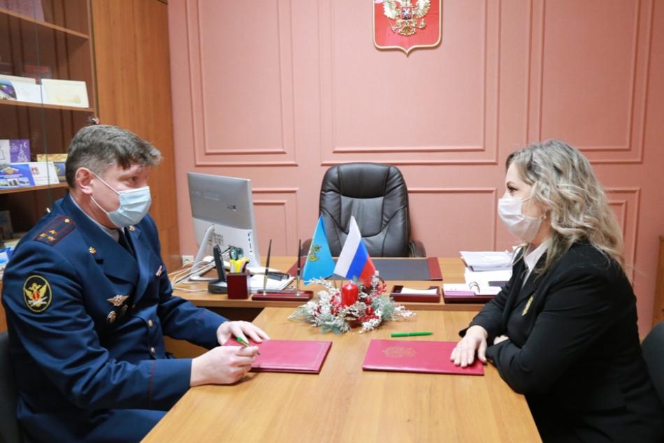 Уполномоченный заключил соглашение с УФСИН по Брянской области с целью защиты прав несовершеннолетних осужденных
