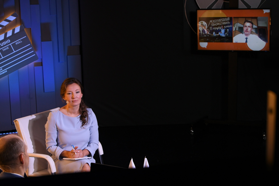 Анна Кузнецова ответила на вопросы участников Слета детских общественных советов