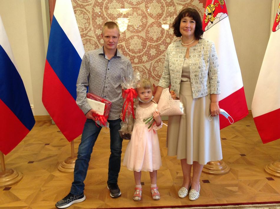 Награда пятилетней Ксюше.