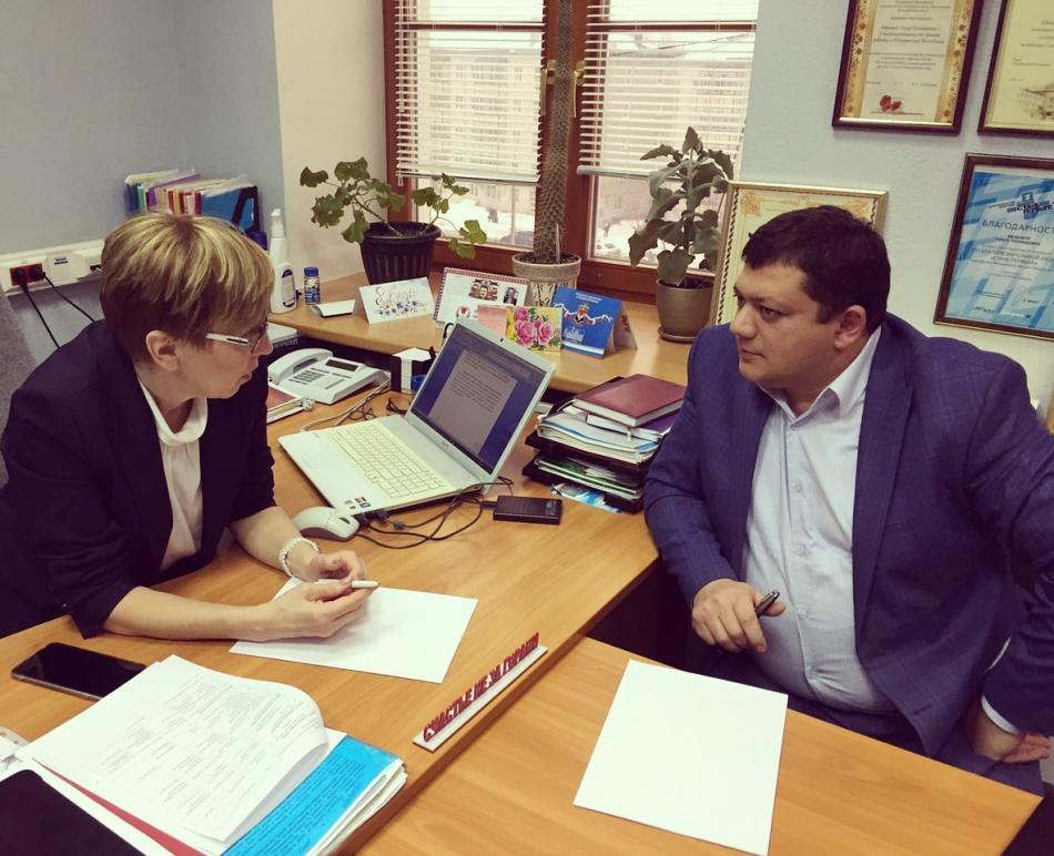 Встреча с депутатом Городской думы города Ижевска