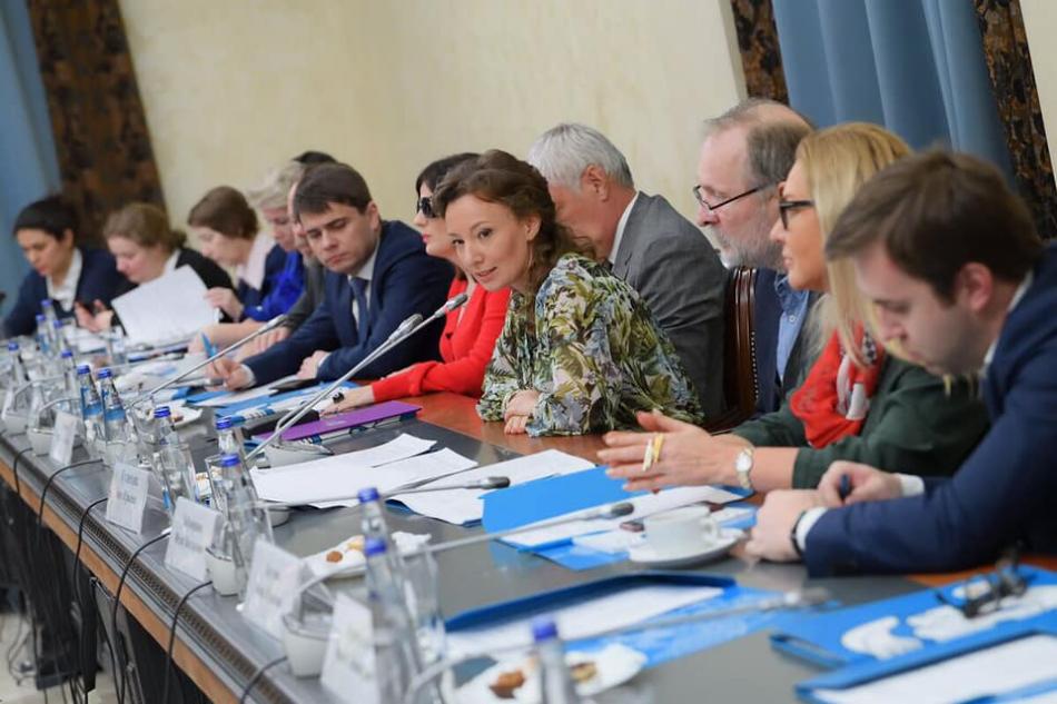 Анна Кузнецова с представителями экспертного сообщества обсудила развитие позитивного детского контента