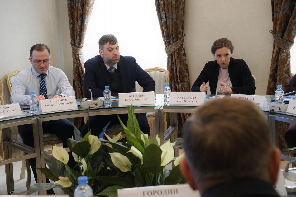 Анна Кузнецова обсудила вопросы вывоза детей из зон боевых действий в условиях пандемии коронавируса
