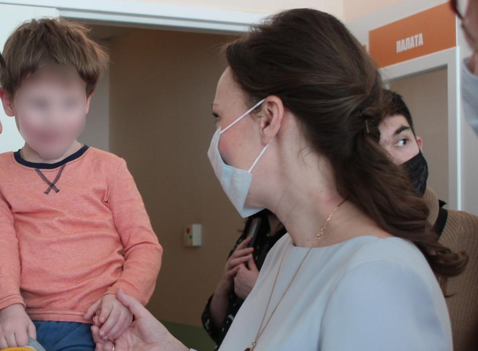 Анна Кузнецова: «Трое детей из Новой Москвы после лечения переданы законному представителю»