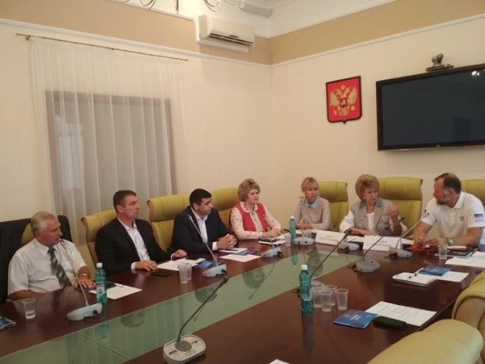Состоялось первое заседание Экспертной группы Проект-центра