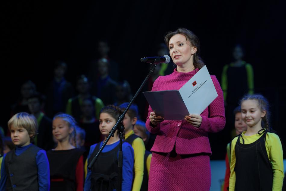 Поздравление Детского музыкального театра юного актёра с 30-летием