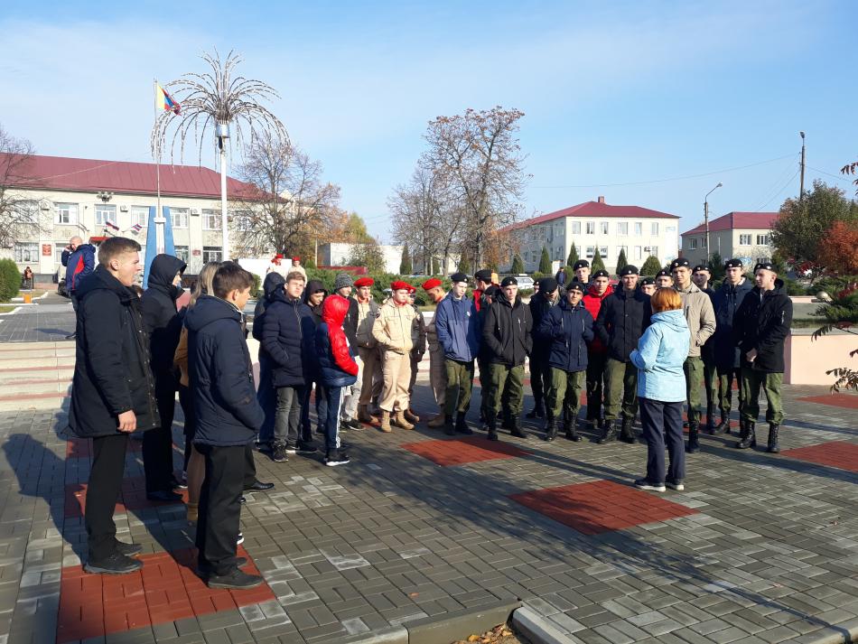 Липецкие школьники посетили памятники Великой Отечественной войны