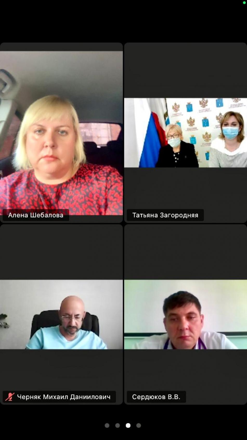 Татьяна Загородняя выступила с инициативой открытия Координационного центра по развитию хосписной помощи детям на территории Саратовской области
