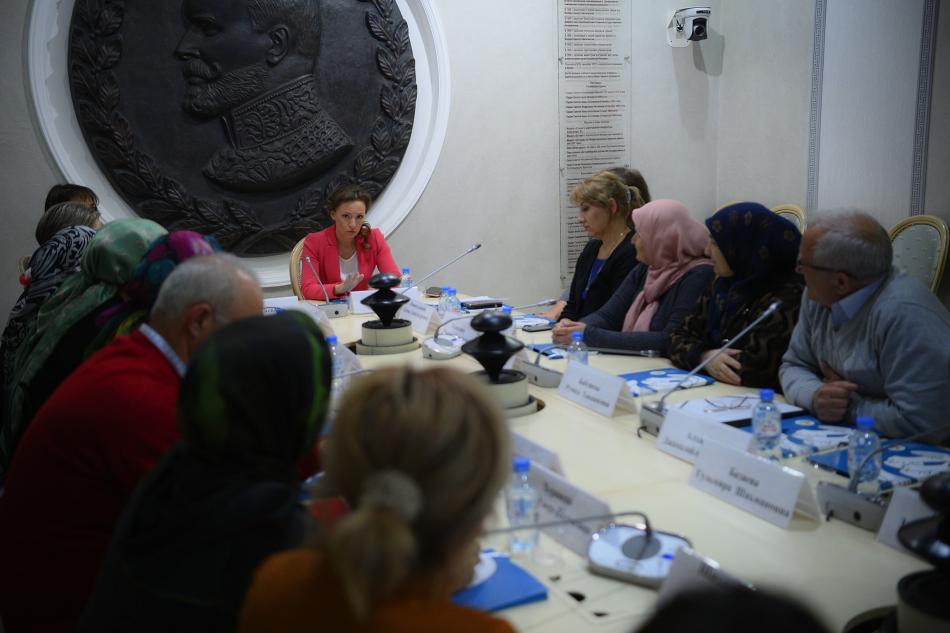 Детский омбудсмен встретилась с родственниками российских детей, находящихся в Сирии
